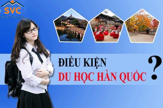 Thủ tục, điều kiện du học Hàn Quốc có nhiều đổi mới